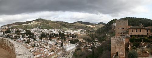Albaycin and Sacromonte Panorama