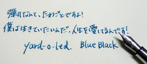 YARD-O-LED Blue Black