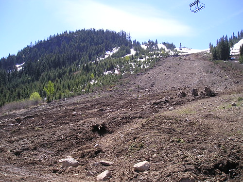 May 27 photo of Hyak Landslide