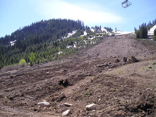 May 27 photo of Hyak Landslide