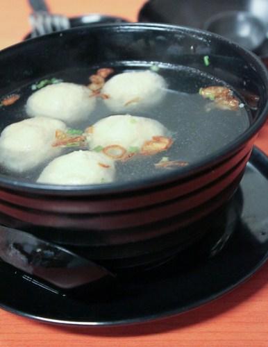 Taiwanese style Meatball Soup at Tasty Dumplings
