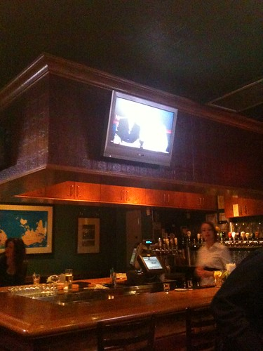 watching the Pens in Hemmingway's Pub