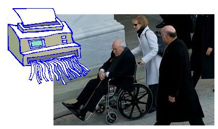Cheney on Wheels