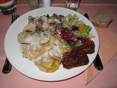 Italienisches Buffet in der Osteria Caruso 2
