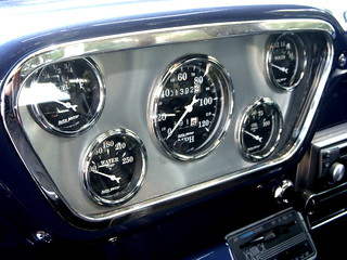 1954 Ford F-100 Dashboard