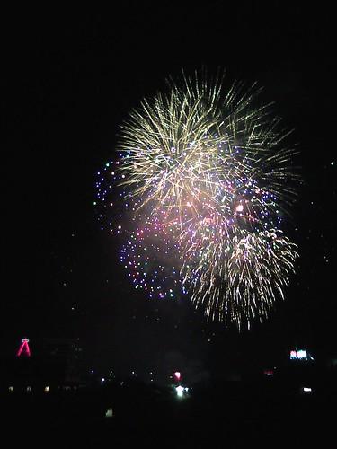 Angels Post-Game Fireworks