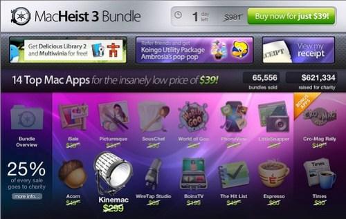 MacHeist 3 bundle