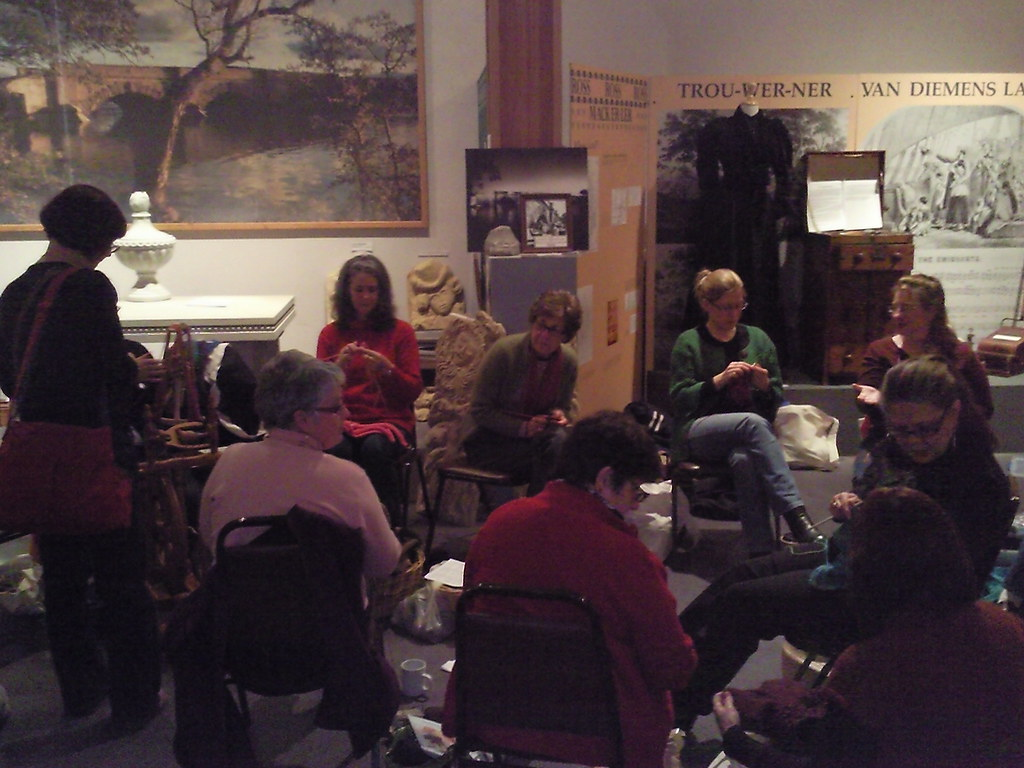 A selection of knitters