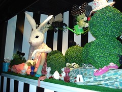 Wonderland Harrods window