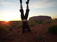 Uluru hat Sarah den Kopf verdreht!