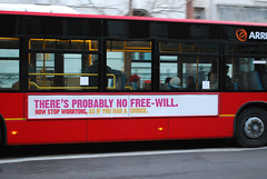 The no free-will bus campaign