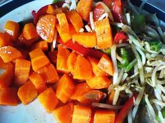 herbed carrot salad
