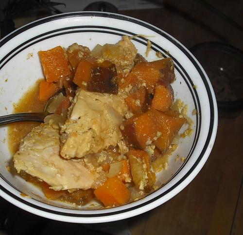 chicken-yams