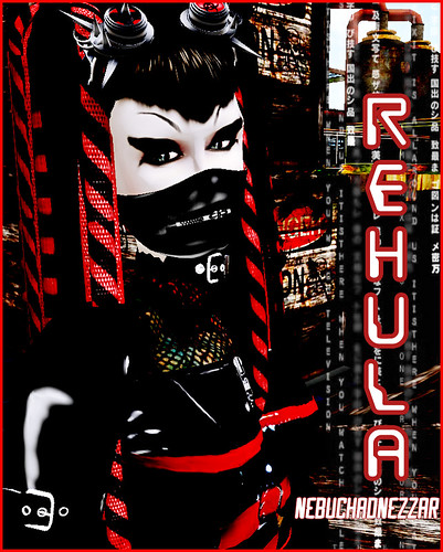 Beloved Red Cybergoth