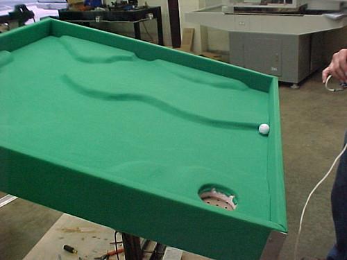 3D Golf Labyrinth Surface