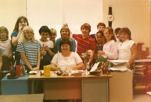 Miss Ballinger's Class 1986
