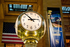 Grand Central Terminal Famous Clock