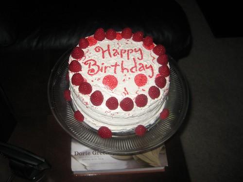 Justin and Scottys Birthday cake