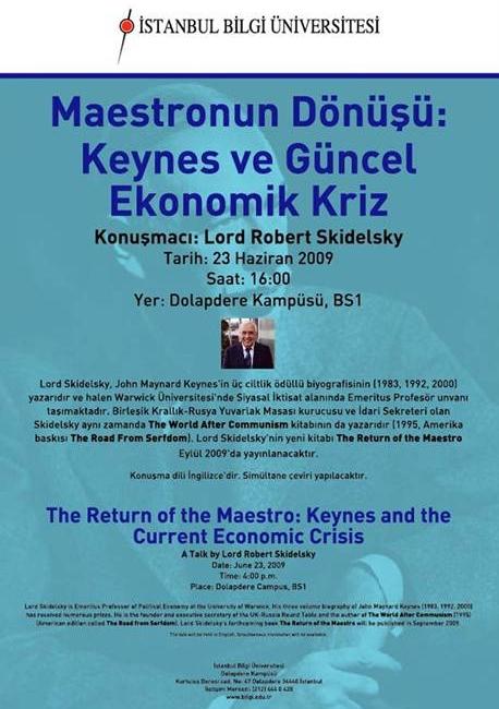 Maestronun Dönüşü: Keynes ve Ekonomik Kriz