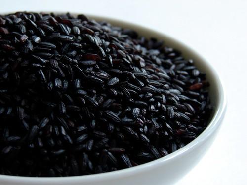 Venetian black rice