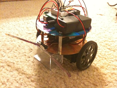 Finished CoasterBot