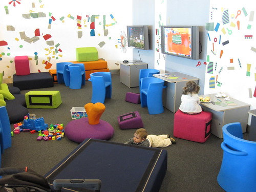 Kids Zone at Heathrow Terminal 5