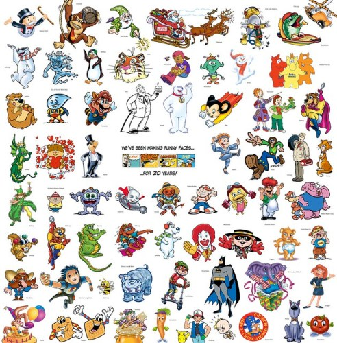 Cartoon Characters Beginning With I : Cartoon characters names that start with z