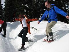 Hollyburn snowshoe, 5 Apr 2009