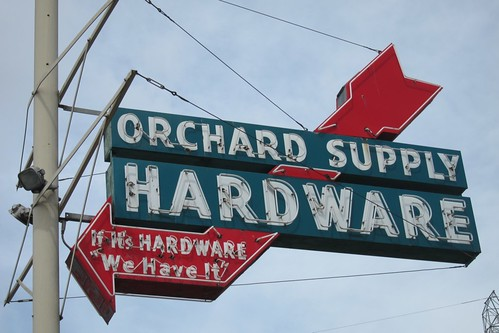 Orchard Supply Hardware old sign