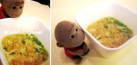 The F Soup (as Sago gets curious as to what lies beneath)