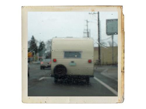 Vintage trailer.