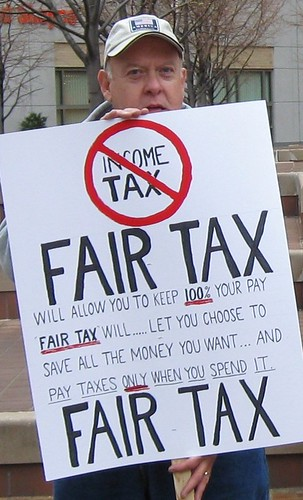 Dayton Tea Party Fair Tax