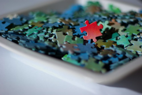 Piece of the puzzle by Inge Pettersen.