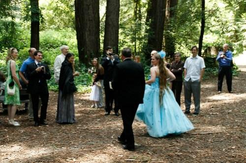 23 - The bride arrives