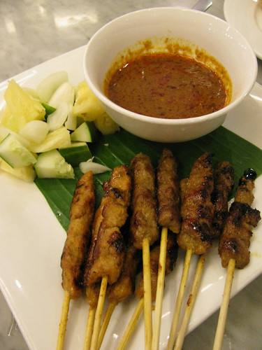Chicken Satay at Malacca
