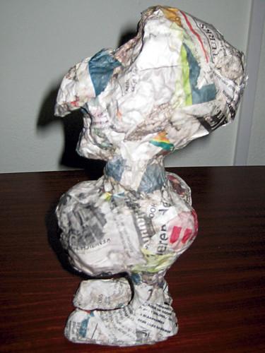 Papier mâché dolls, part 5