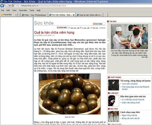 Báo Tin tức online của Viet Nam Net chôm hình