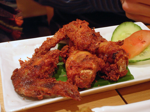 Fried Chicken Wings with Preserved Beancurd