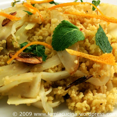 Mandarinen-Fenchel-Couscous