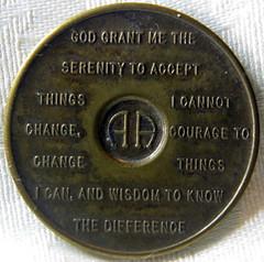 Sobriety medallion