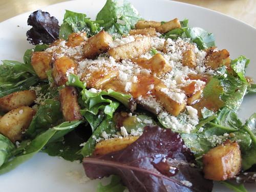 spicy tofu salad