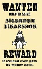 Wanted: Icelandic Banker