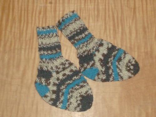 Sporty Striped Baby Socks