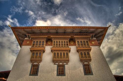 Main Utse in the Punakha Dzong