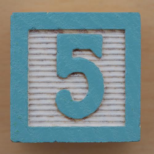 Educational Brick Number 5