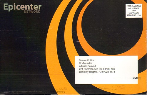 Epicenter Network postcard front