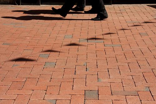 Walkin' the bricks