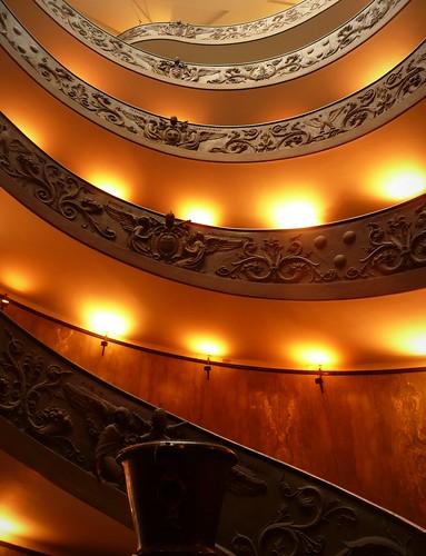 colimaçon dans un musée de Rome