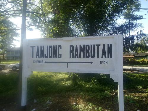 TANJUNG RAMBUTAN RAILWAY STATION