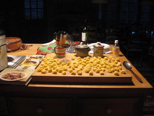 butter cup squash gnocchi